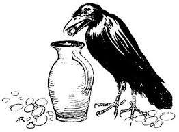 Con quạ và cái bình - The crow and the pitcher