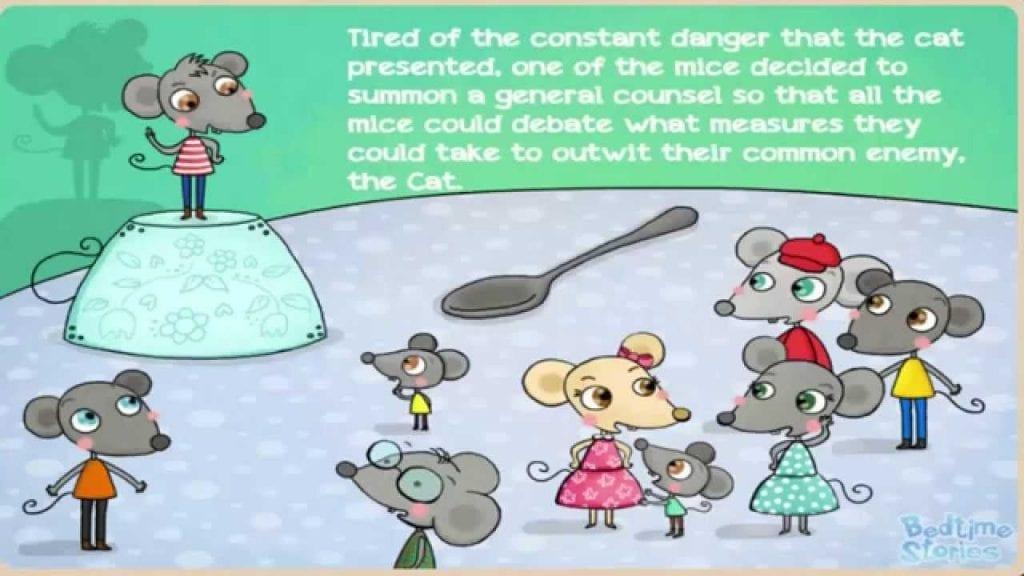 Truyện song ngữ: Đeo chuông cho mèo
