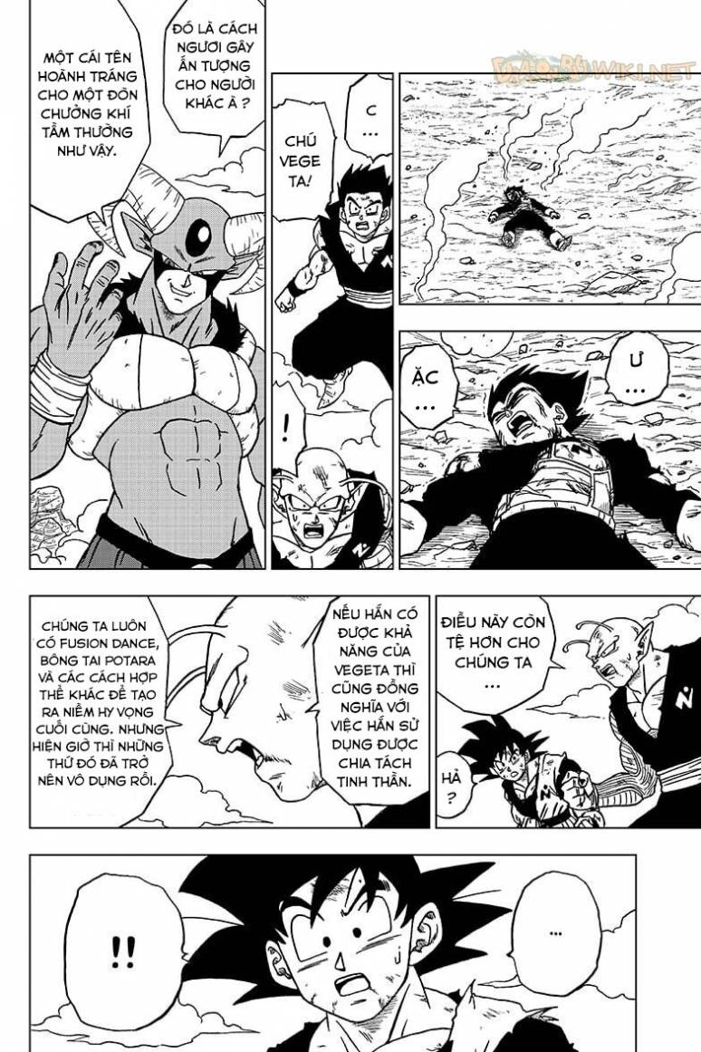 truyện tranh Dragon ball super chap 62